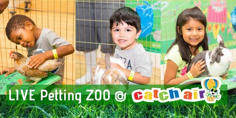 Kids Petting Zoo @ Catch Air Round Rock tickets