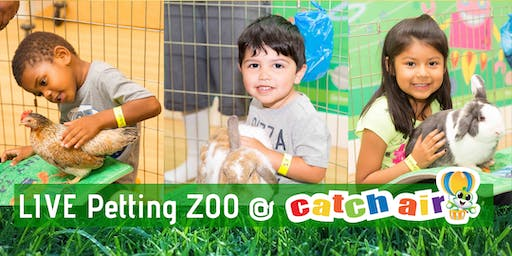 Kids Tiny Tails Petting Zoo @ Catch Air Round Rock