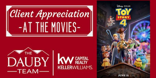 The Dauby Team Client Appreciation - TOY STORY 4