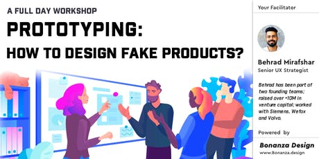 Prototyping, how to design fake products?   1-day workshop   Berlin tickets