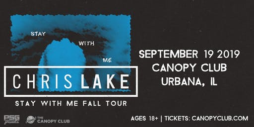 Chris Lake: Stay With Me Tour