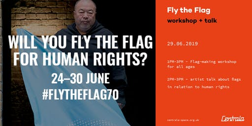 Fly the Flag - workshop + talk