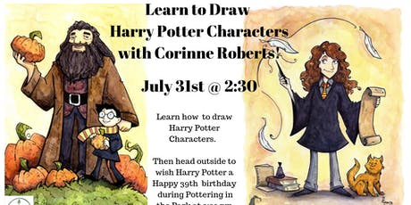 Learn to Draw Harry Potter Characters tickets