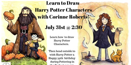 Learn to Draw Harry Potter Characters
