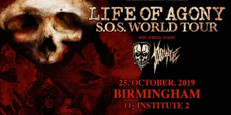 Life Of Agony (O2 Institute 2, Birmingham) tickets