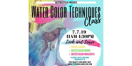 Water Color Techniques Class tickets