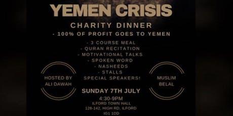 Yemen crisis  tickets