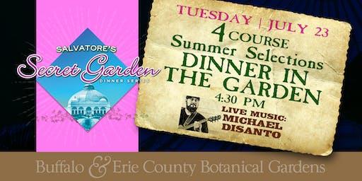 Salvatore's Secret Garden Dinner Series (Chef Brandon's Summer Menu)