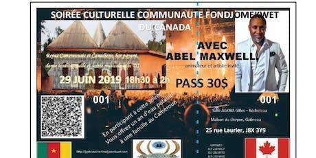 Soirée culturelle   communauté fondjomekwet du Canada tickets