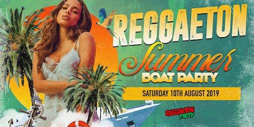 Reggaeton Summer Boat Party 2019