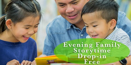 Drop-in Evening Family Storyime tickets