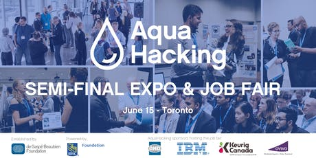2019 AquaHacking Challenge Semi-Final & Environmental Job Fair tickets