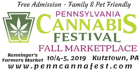 PennCannaFest Fall Marketplace - Kutztown tickets