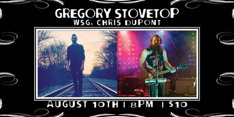 Gregory Stovetop wsg: TBA tickets