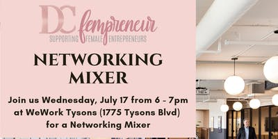 Networking Power Hour Mixer at WeWork Tysons