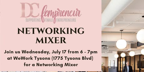 Networking Power Hour Mixer at WeWork Tysons tickets