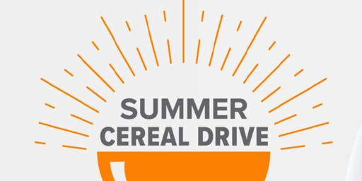 Summer Cereal Drive – Team Outlets of Little Rock