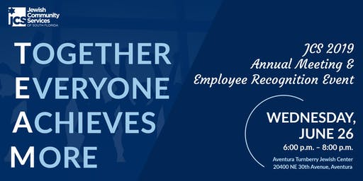 2019 JCS Annual Meeting & Employee Recognition Event