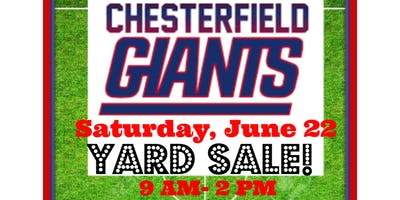 Chesterfield Giants Community Yard Sale!