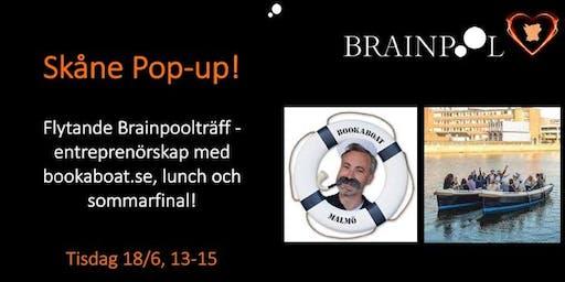 PopUp Skåne.....BookaBoat.se - en resa i entreprenörskap och färd över vatten i holländska el-båtar