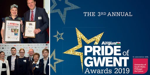 South Wales Argus Pride of Gwent Awards 2019