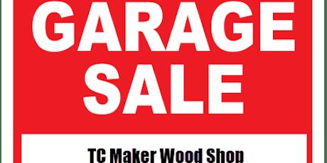 Twin Cities Maker - Wood Shop Garage Sale (Fundraiser) tickets