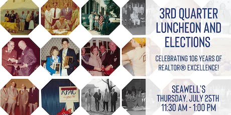 CCRA 3rd Quarter Luncheon | 106th Birthday and Elections tickets