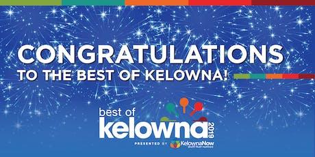 Best Of Kelowna Winners Party 2019 tickets
