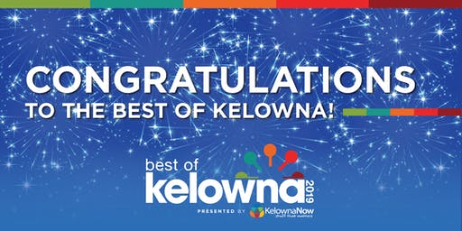 Best Of Kelowna Winners Party 2019