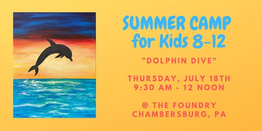 """Summer Camp for Kids - """"Dolphin Dive"""""""