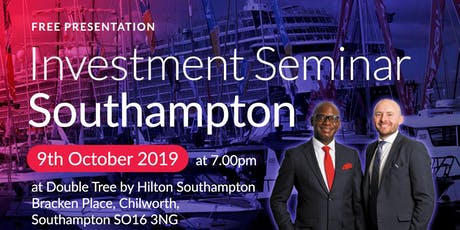 Southampton Investment Seminar on Buy2LetCars tickets