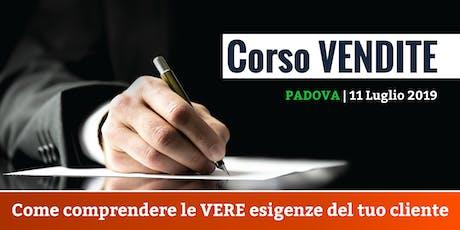 Corso Vendite con Paolo Valentini biglietti