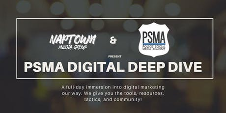 PSMA Digital Deep Dive tickets