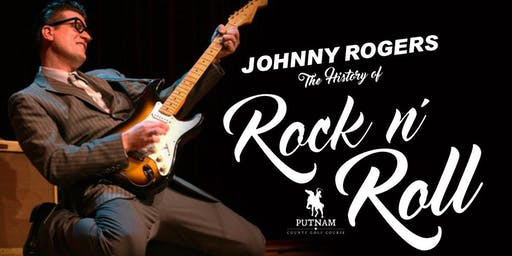 Johnny Rogers - The History of Rock n' Roll at Putnam County Golf Course