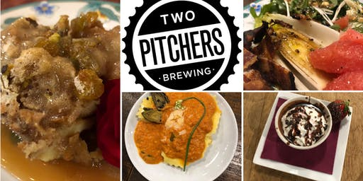 Beer Dinner featuring TWO Pitchers Brewing and Kelly DeLaire