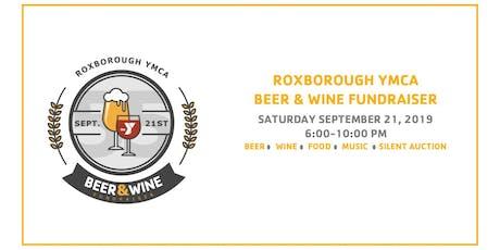 2019 Roxborough YMCA Beer & Wine Fundraiser tickets