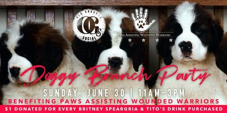 Doggy Brunch Benefitting Paws Assisting Wounded WarriorS tickets