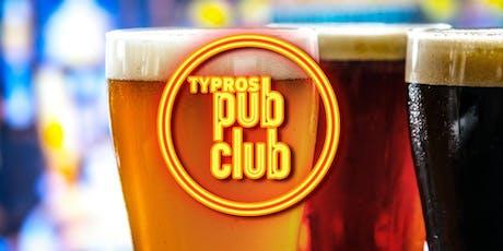 TYPROS Pub Club: The Tulsan Bar tickets
