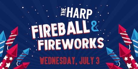 Fireball & Fireworks tickets
