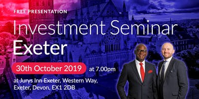 Exeter Investment Seminar on Buy2LetCars