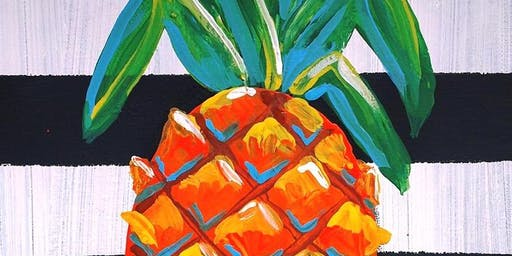Pineapple Sip 'N Paint
