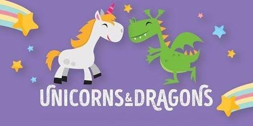 Unicorns and Dragons Breakfast at Stew Leonard's