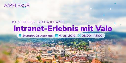 Business Breakfast: Intranet-Erlebnis mit Valo
