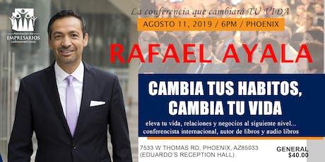 Rafael Ayala, cambia tus hábitos para una vida de EXITO tickets