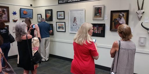 FREE July Artist Reception for 100+ Artists w-People's Choice Award!