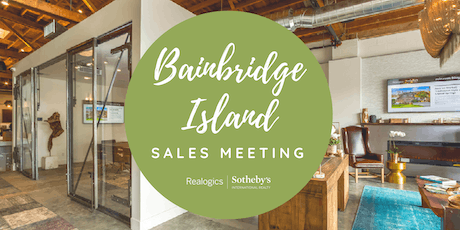 RSIR Bainbridge Island - Sales Meeting tickets