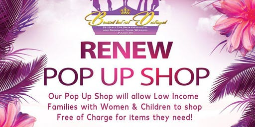 Renew Pop Up Shop