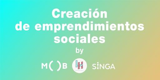Creación de emprendimientos sociales (Free Workshop)