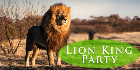 Lion King Party tickets