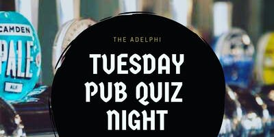 Monthly Tuesday Quiz line up